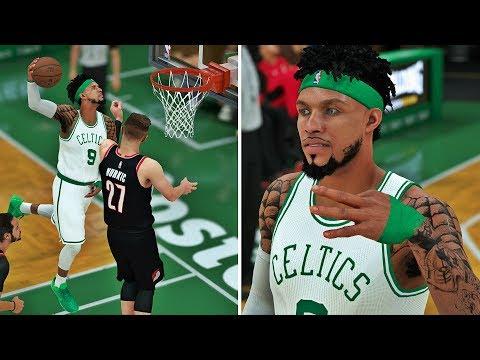 NBA 2K18 MyCAREER - FEAR ELI HARRIS!! J.Tatum Caught A Body! Studio Session w/ Dame Dolla!