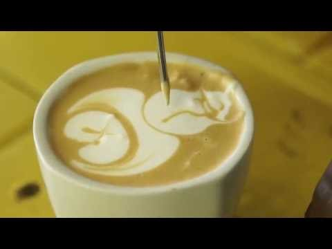 Latte Art How To: Pour a Pirate with Sibusiso Ncube