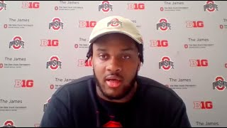Ohio State OL Paris Johnson Jr. On Thayer Munford's Decision To Return: \