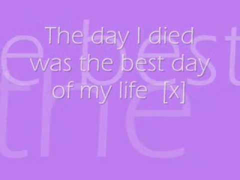 Just Jack The Day I Died Lyrics