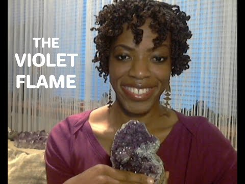 Violet Flame of St.Germain: How To Use The Violet Flame Spiritual Healing Tool...