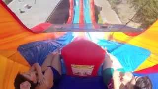 Volcano Lava Water Slide, Giant Water Slide Rental | Magic Jump Rentals