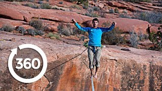 Walk The Tight Rope (360 Video) thumbnail