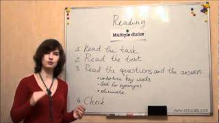 Чтение (ЗНО, английский): Часть 2 (эпизод 1), видео урок