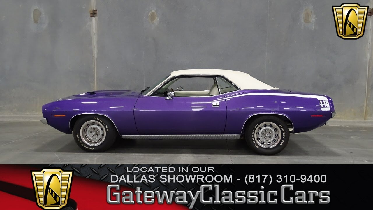 1970 Plymouth Barracuda Stock #120 Gateway Classic Cars of Dallas ...