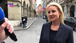 Réaction de Céline Amaudruz, candidate UDC au Conseil des Etats après le dévoilement des résultats