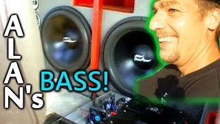 Dual Fi BL 18's on 5,000 Watts | Alan's LOUD Sound System Demo w/ 2 Hifonics Brutus Amps Strapped