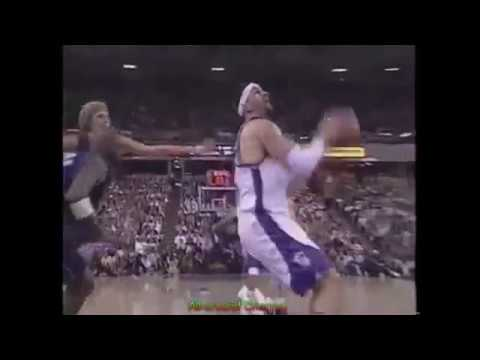 Brad Miller 21 Points 6 Ast Vs. Mavericks 2004 Playoffs, Game 5.