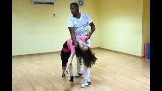 Красивый танец! Бачата сеншуал от Валерии и Алайна | A4G Dance