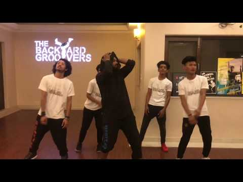 Hips Dont Lie | Shakira | The Backyard Groovers | Ashish Gupta Choreography|