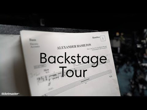 Exclusive behind the scenes tour at Hamilton in the West End | Ticketmaster UK