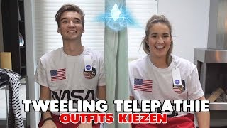 OUTFITS KIEZEN - TWEELING TELEPATHIE CHALLENGE MET ZUS