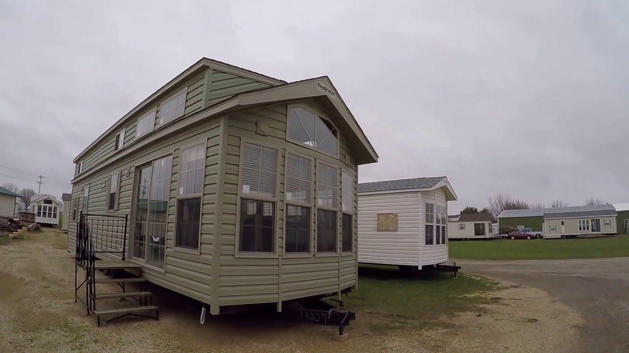 2016 Quailridge 40mlfd 3t Park Model Rv Tiny House Youtube