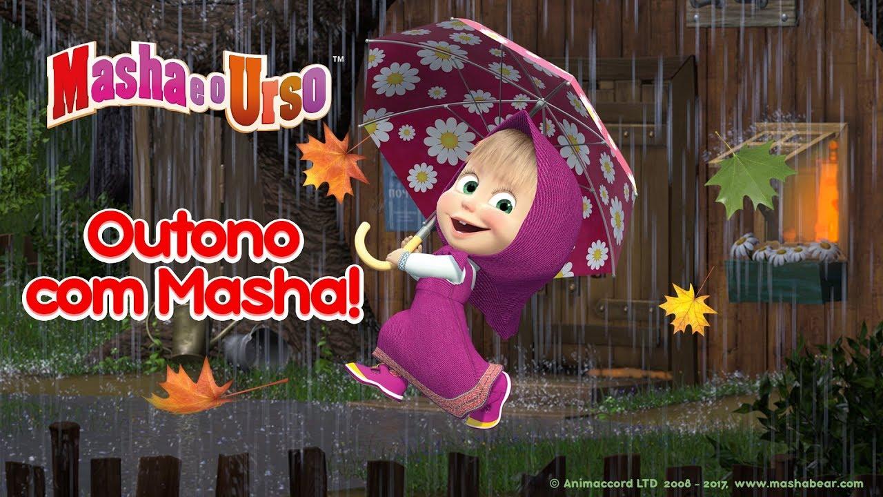 Masha e o Urso - Outono com Masha! ???? Coleção dos melhores desenhos animados de outono ????