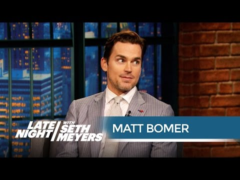Matt Bomer: Singing Helped Me Strip in Magic Mike XXL - Late Night with Seth Meyers