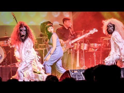 YURA YUNITA - Thriller (MJ Cover) - Live at Bandung Music Festival 2015