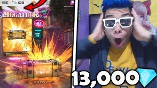 ¡ME JUEGO 13,000 DIAMANTES por LA NUEVA SKIN del LUCK ROYALE en FREE FIRE! *no creerás qué pasó*