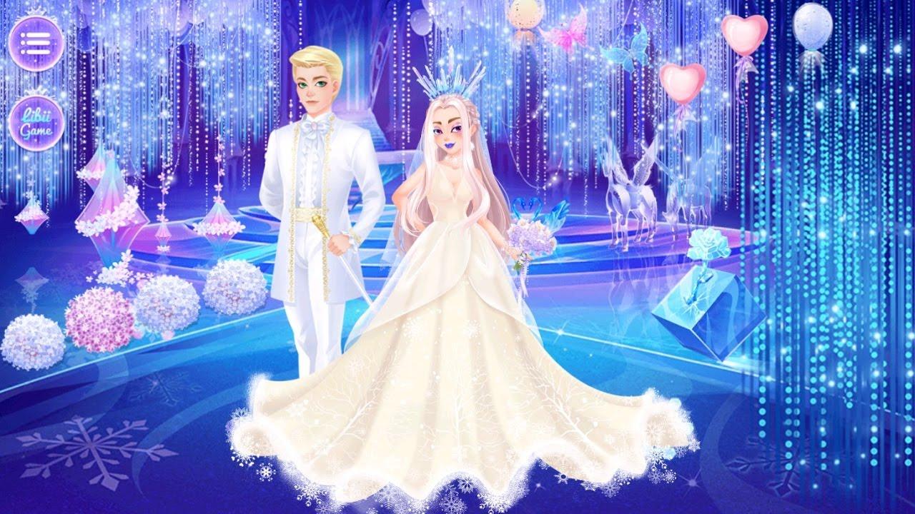 Princess Dream Wedding, Love Story, Frozen Wonderland, Make Up ...
