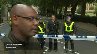 UK Police suspect terrorism in Westminster crash
