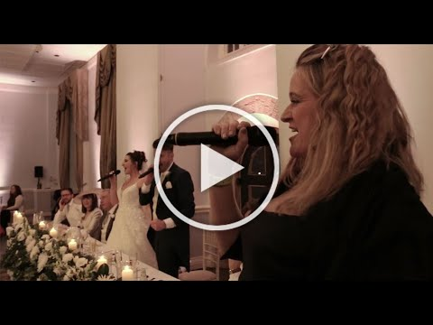 One Day More - Les Miserables wedding flash mob with surprise Choir