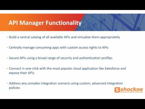 API Catalog  - Why API Manager is so important