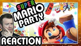 🔴 SUPER MARIO PARTY 🎇 E3 2018 Nintendo Treehouse Gameplay Live Reaction
