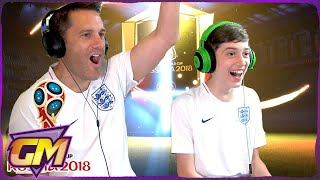 World Cup Walkouts Ultimate Team Pack Opening!! - Father and Son Fifa 18