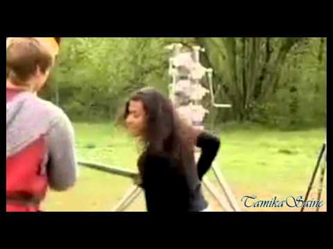 Bradley James ღ Angel Coulby  -  You are here with me