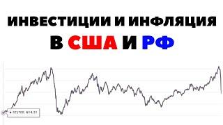 ⚡Инфляция в США и РФ