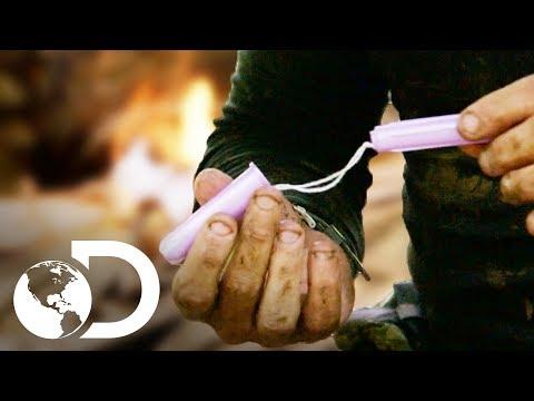 Cómo usar tampones en la jungla | Desafío x 2 | Discovery Latinoamérica