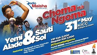 Choma na Ngoma Fest:Radio Maisha hosts event at KICC