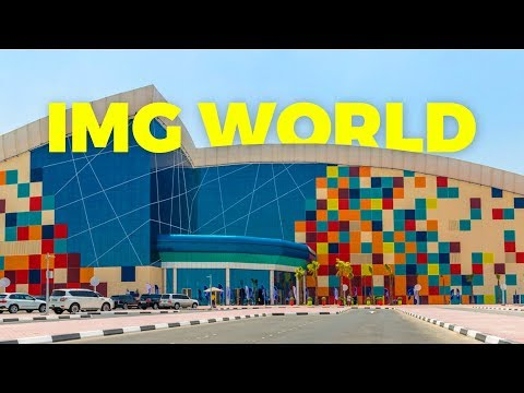 The World's Biggest Theme Park | DUBAI IMG WORLD | Nepali Tour 🇳🇵