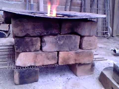 Fogon de ladrillos youtube for Fogones rusticos en ladrillo