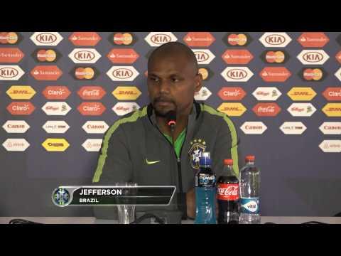 Dunga tries to instil Brazil belief
