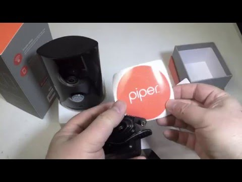 Piper nv Home Security Camera System Unboxing Review
