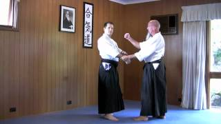Basic Aikido techniques