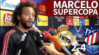 Real Madrid 2-4 Atlético | Marcelo: