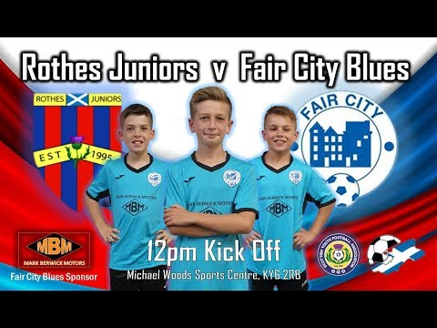 Matchday 3 - Rothes Jrs V Fair City Blues Highlights