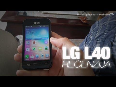 LG L40 video recenzija