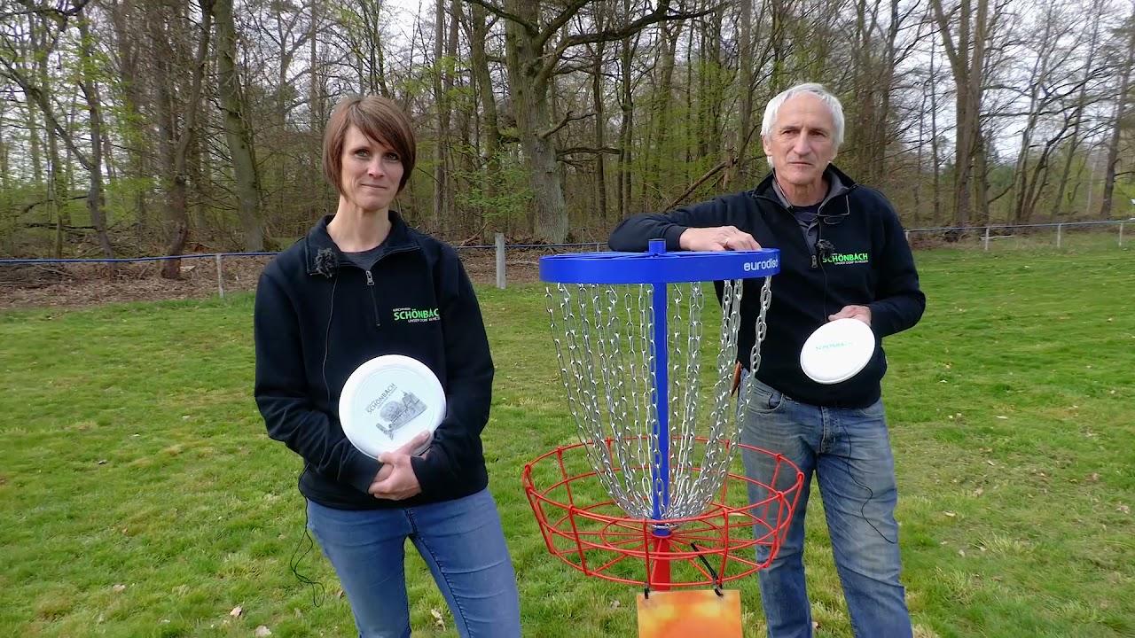Frisbeegolf in Schönbach