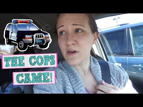 WE HAD TO CALL THE COPS // stay at home mom vlog // Mommy Etc