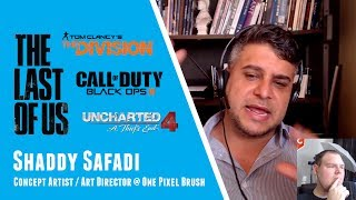 Gambar cover The Last of Us Storytelling + Art Tips + The Game Industry With Shaddy Safadi from One Pixel Brush