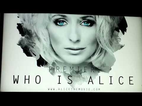Bij de Who Is Alice première!