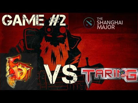 First Departure vs TARING^my The Shanghai Major 2016 SEA Qualifier Game#2