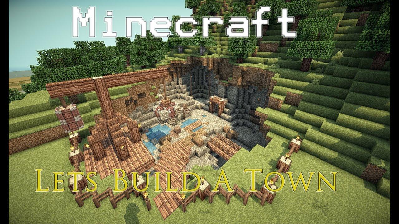 Lets Build a Town Part 9 Quarry