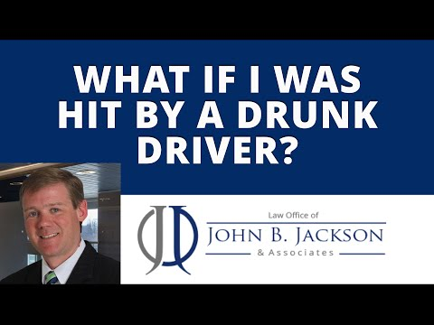 What if I was hit by a drunk driver?