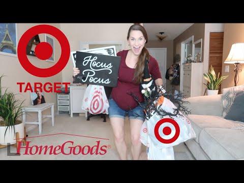 Fall & Halloween Home Decor Haul! Target Haul + Some Home Goods & More Fun!