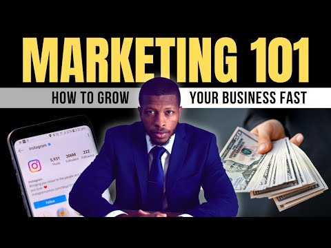 Marketing 101 - Marketing Tips for Small Business Owners