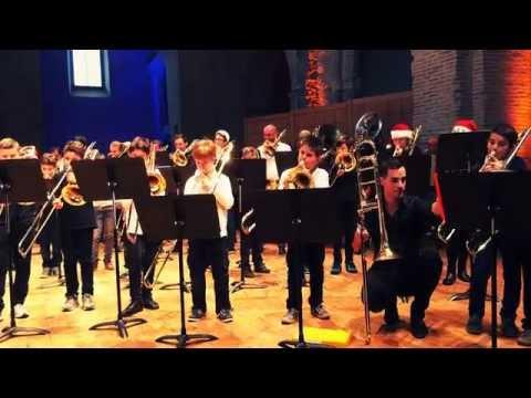 Rencontre régionale de trombones - Chanson de Noël - CMDT