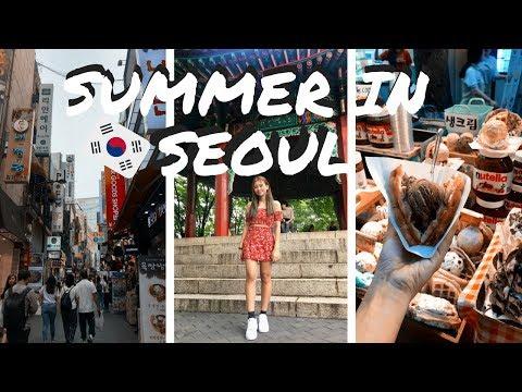 SEOUL, SOUTH KOREA 2018 VLOG // (Myeongdong, Itaewon, Hongdae...)